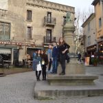 centre of Carcasonne