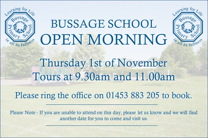 Bussage School Open Morning