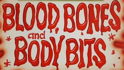 Blood bones and body bits logo
