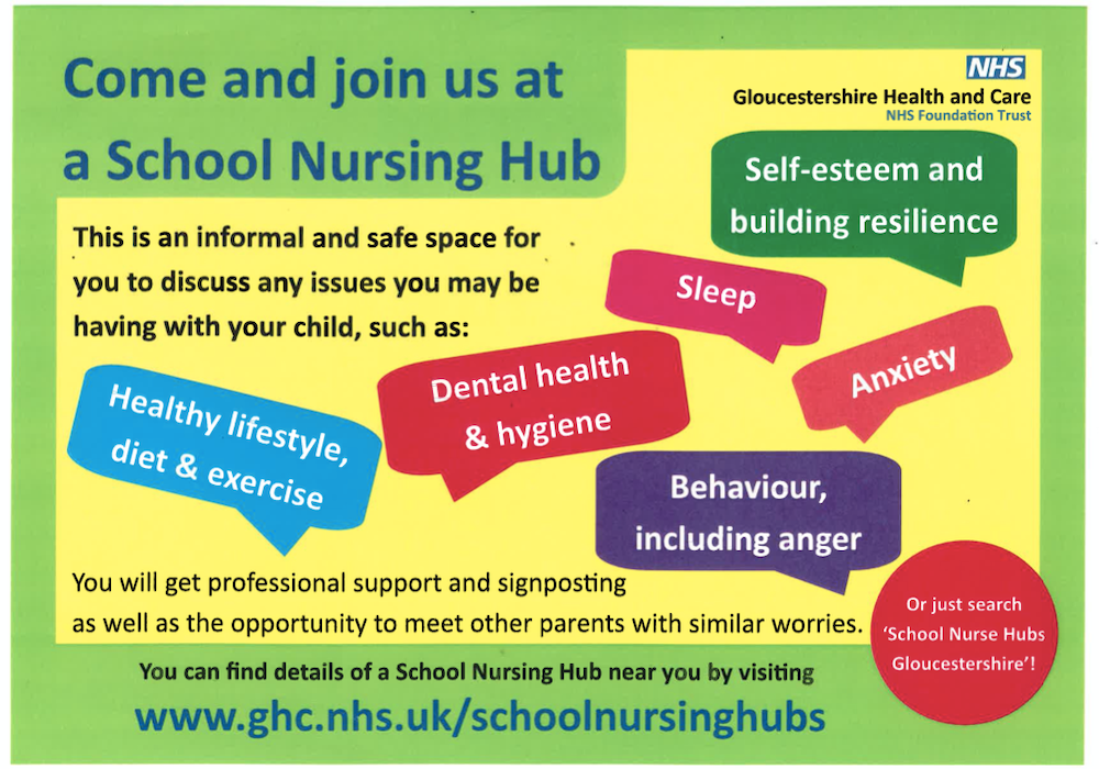 School Nursing Hub Advert