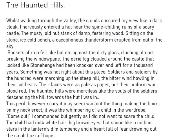 Freya haunted hills